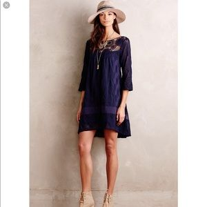 Holding Horses navy laced Augusta dress size M
